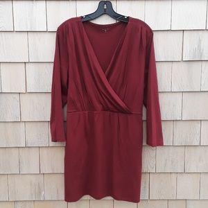 Garnet Hill faux wrap tunic